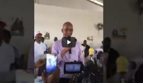 Discours de Cellou Dalein Diallo à l'assemblée générale de l'UFDG de ce Samedi 17/03/18