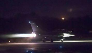 Washington, Paris et Londres ont frappé en Syrie