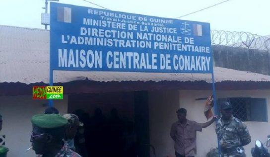 Prison civile de Conakry : les repas des prisonniers ''détournés'', le gardien-chef à l'index!