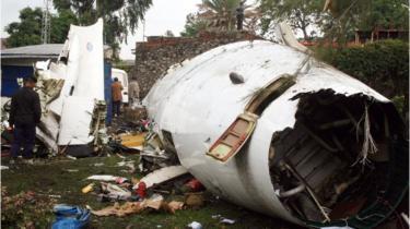 Crash au Kasaï : cinq morts