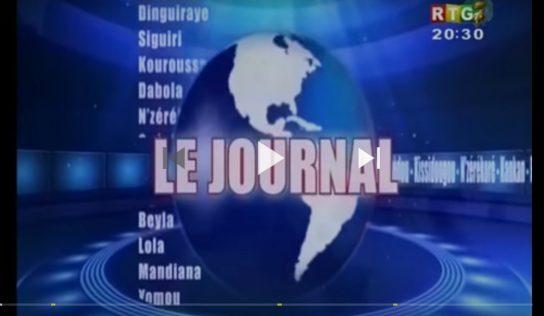 Journal RTG du 1er Août 2018
