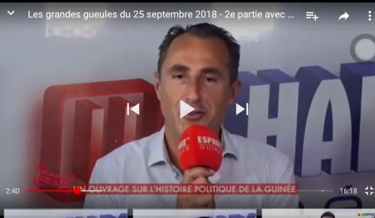 Les grandes gueules du 25 septembre 2018. 2ème partie avec Juan Gomez  RFI