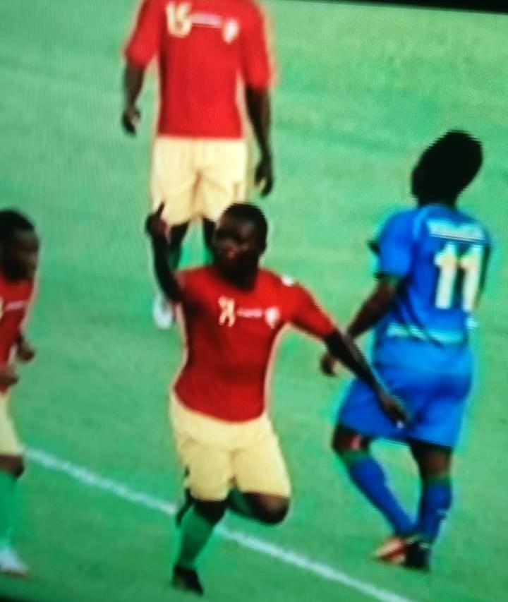 Ibrahima Cissé Wallpaper: Guinee-2-0-Rwanda : La Célébration Déplacée De D'Ibrahima