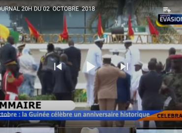 Journal 20H Évasion TV du 02 octobre 2018