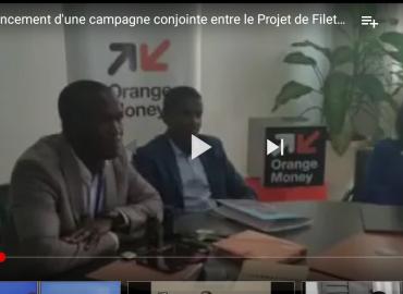 Lancement d'une campagne conjointe entre le Projet de Filets Sociaux Productifs et Orange Finances Guinée pour digitaliser le processus de paiement des Transferts sociaux en faveur des ménages vulnérables en Guinée