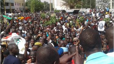 Une vaste mobilisation contre l'insécurité au Mali