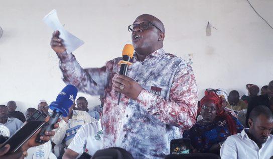 AG UFDG: Fodé Oussou Fofana tacle sévèrement le ministre de la jeunesse, Mouctar Diallo