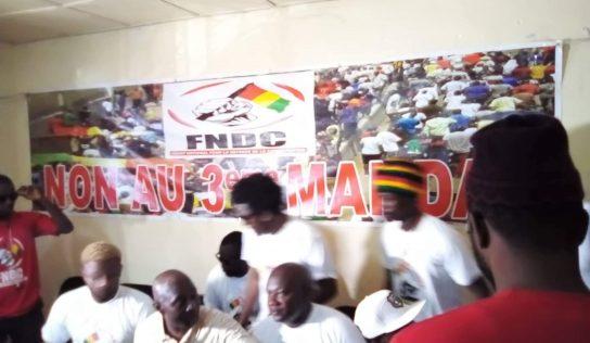 Les artistes engagés adhèrent au FNDC