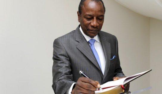 Decret : Alpha nomme le ministre de la justice
