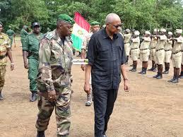 Un garde pénitentiaire en formation meurt au camp Kaléya ( Forecariah)