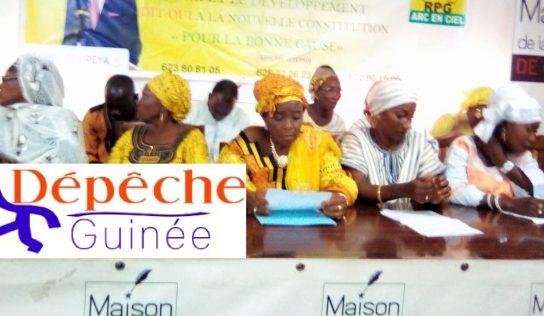 Politique: Les femmes forestières réunies dans l'UFFEPADE,disent «Oui» à une nouvelle constitution