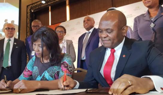 Communiqué de presse : Le PNUD en partenariat avec à la Fondation Tony Elumelu pour autonomiser 100 000 jeunes entrepreneurs en Afrique