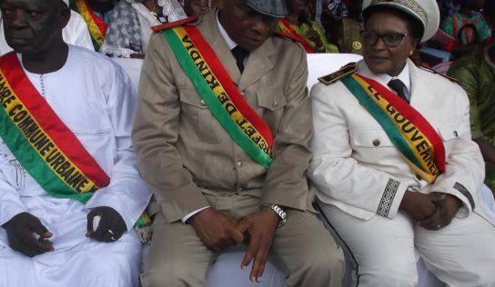 Kindia-Anniversaire : L'an 61 de l'indépendance nationale célébrée sous la pluie