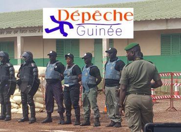 Processus électoral : 350 agents formés pour la sécurité électorale en Guinée