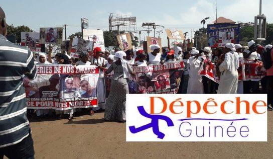 Les femmes du FNDC demandent le départ du Pr Alpha Condé