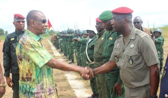 Le président Alpha Condé à Nzérékoré