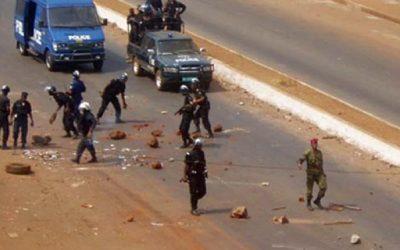 Violent Manifestation à Conakry : plusieurs manifestants  de l'opposition arrêtés