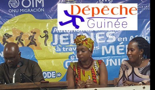 """Concours"""" yaguine et Fodé """" les laureats sur le podium"""