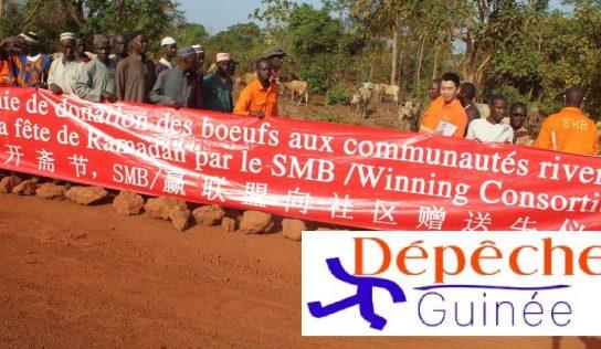 Malapouya : grogne contre la société SMB paralyse les activités .