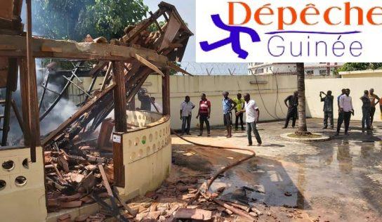 Urgent: Incendie au domicile privé de Sidya Touré