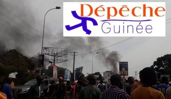 Marche funèbre :De violents affrontements ont debuté à Bambeto entre les jeuns du FNDC et les forces de l'ordre