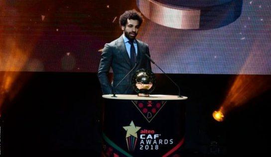 Caf Awards 2019 :Mohamed Salah remporte devant Sadio Mane