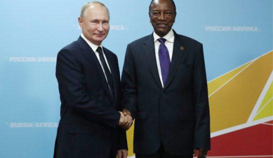Guinée: Comment Poutine a obtenu un nouveau meilleur ami pour toujours en Afrique ?