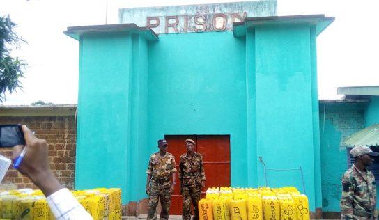 Kindia : visite du président, les détenus de la prison civile consignés…