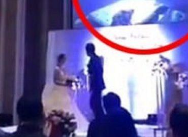 Vidéo : Le jour de son mariage, il diffuse une  sextape de sa femme et de son beau-frère devant les invités
