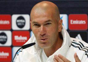 Zinédine Zidane (Real Madrid) après le Clasico: «Je suis fier de mes joueurs»