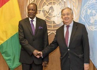"""Alternance en Guinée: Antonio Guterres propose un poste """"juteux"""" à Alpha Condé à l'ONU"""