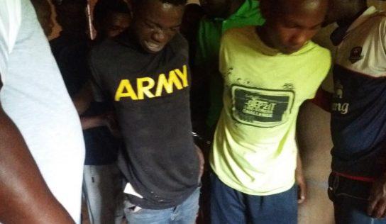 Labé/ Insécurité : Arrestation de deux présumés bandits au quartier Tata 2