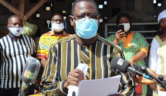 Conakry-pêche : Remise des centres améliorés de traitement des produits de Pêche