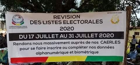 Mamou-Politique : Révision des listes électorales dans la région administrative