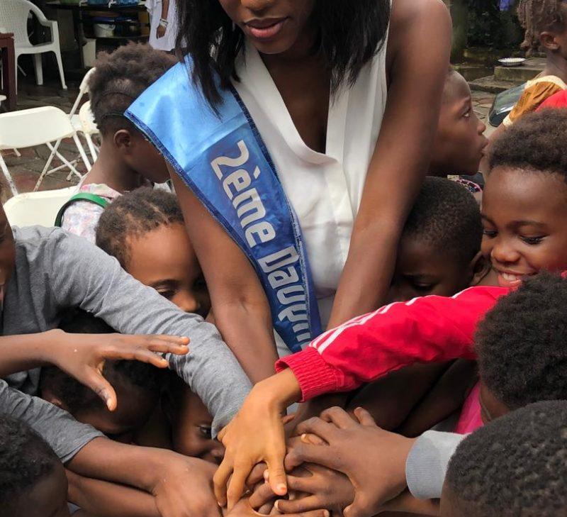 La Miss University Bilguissa camara fête ses 22 ans avec des orphelins de Dapomba