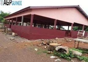 Mamou : Un hangar flambant neuf pour les vendeuses de Gongoret