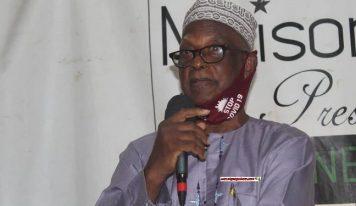 Non soumission de la Constitution de 2010 à référendum, 3èm mandat : Diallo Souleymane accuse Alpha Condé