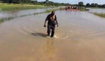Inondations à Siguiri: la sous-préfecture de Norassoba coupée du reste de la préfecture