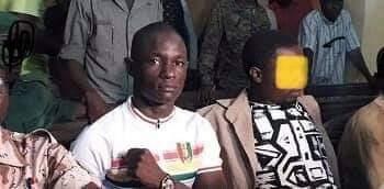 Le Jeune Grenade à  la Barre : «Monsieur le président, on m'a condamné parce que je suis de l''UFDG»