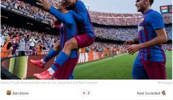 FC Barcelone : une première sans Lionel Messi particulièrement réussie